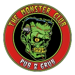 Monster Club Round Logo Enamel Pin