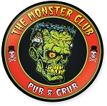 The Monster Club Logo Refrigerator Magnet