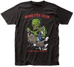 Monster Club Smoker Tee With Red Lettering