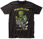 Monster Club Smoker Tee With Yellow Lettering