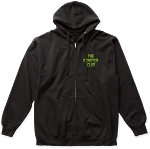The Monster Club Monsters Logo Zip Up Hoodie