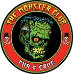 The Monster Club Logo Sticker