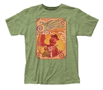 The Muppets Kermit & Fozzie fitted jersey tee