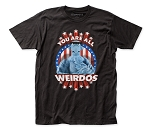The Muppets Weirdos fitted jersey tee