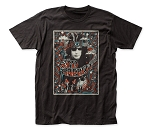 Syd Barrett Melty Poster fitted jersey tee