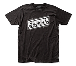 Star Wars Empire Strikes Back Logo fitted jersey tee