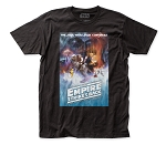 Star Wars ESB Poster fitted jersey tee