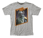 Star Wars Boba Fett fitted jersey tee