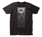 Star Wars Frozen In Carbonite fitted jersey tee