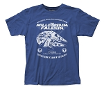 Star Wars Millennium Falcon fitted jersey tee