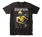 Star Wars Polish Poster fitted jersey tee