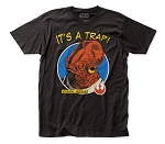 Star Wars It's A Trap! fitted jersey tee