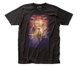 Star Wars Phantom Menace Poster fitted jersey tee