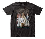 Star Wars Good Guy Action Figures fitted jersey tee