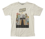 Star Wars Empire Strikes Back Marker Poster fitted jersey tee