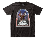 Star Wars Retro Trio fitted jersey tee