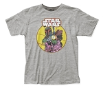 Star Wars Boba Fett Comic fitted jersey tee