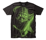 Star Wars Yoda big print subway tee
