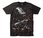 Star Wars Battle At Endor big print subway tee