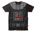 Star Wars Vader Costume big print subway tee