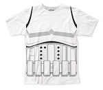 Star Wars Stormtrooper Costume big print subway tee