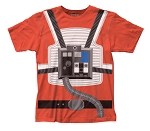 Star Wars Luke Pilot Suit big print subway tee