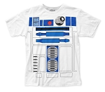 Star Wars R2-D2 Costume big print subway tee