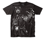 Star Wars Darth Vader big print subway tee
