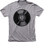 Drastic Plastic Vinyl Lounge Heather Tee