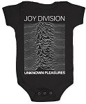 Joy Division Unknown Pleasures infant onesie