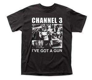 "Channel Three ""I've Got A Gun"" Tee"