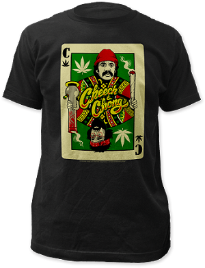 "Cheech & Chong ""Playing Card"" - Fitted Jersey Tee"