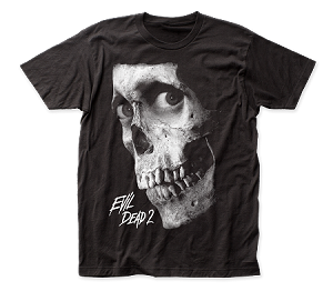 "Evil Dead II ""Dead by Dawn Grayscale Poster"" - Fitted Jersey Tee"