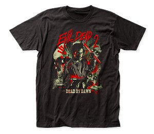"Evil Dead II - ""Dead by Dawn"" - Fitted Jersey Tee"