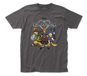 "Kingdom Hearts ""Sora & Friends"" - Fitted Jersey Tee"