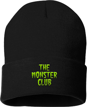 The Monster Club Logo Beanie