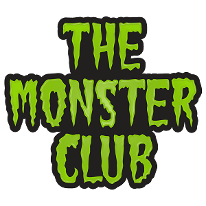 The Monster Club Text Logo Enamel Pin