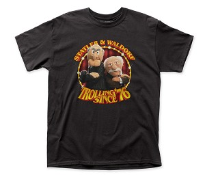 "The Muppets ""Bunsen & Beaker"" - Fitted Jersey Tee"