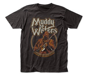 "Muddy Waters ""Father of Chicago Blues"" - Fitted Jersey Tee"