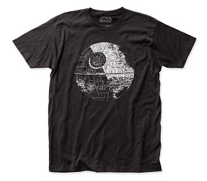 Star Wars Death Star fitted jersey tee