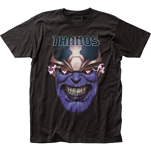 "Thanos ""Teeth Clenched"" - Fitted Jersey Tee"
