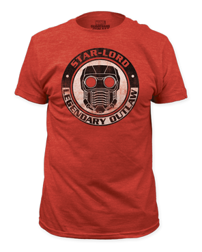 "Guardians of the Galaxy ""Star-Lord Legendary Outlaw"" Tee"