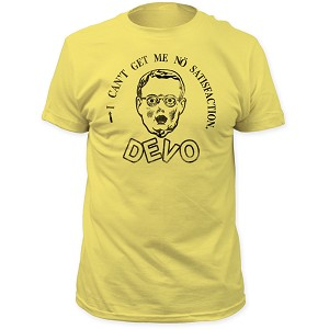 "Devo ""No Satisfaction"" - Fitted Jersey Tee"