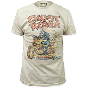 "Ghost Rider ""Hell On Wheels"" - Fitted Jersey Tee"