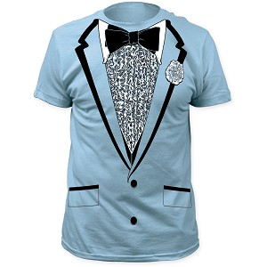 "Impact Originals ""Baby Blue Retro Prom"" - Costume Tee"