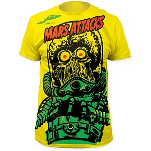 "Mars Attacks! ""Big Yellow Martian"" - Subway Sublimation Tee"