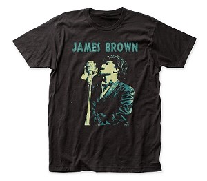 "James Brown ""Singing"" - Fitted Jersey Tee"