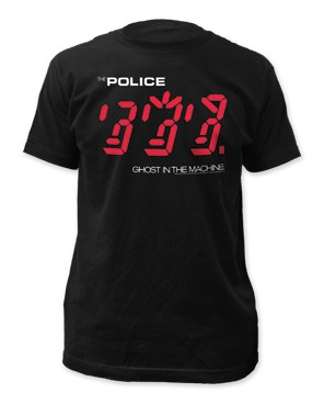 "The Police ""Ghost In the Machine"" Tee"