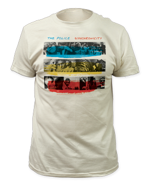 "The Police ""Synchronicity"" Tee"