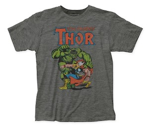 "Thor ""Thor vs. Hulk"" - Fitted Jersey Tee"